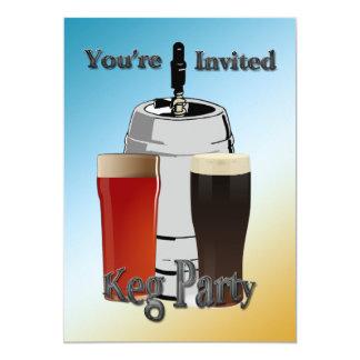 Fass-Party Einladungen