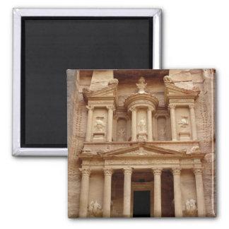 Fassade des Khazneh Firaoun Quadratischer Magnet