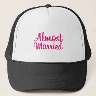 Fast verheiratetes Shirt für ihn Truckerkappe