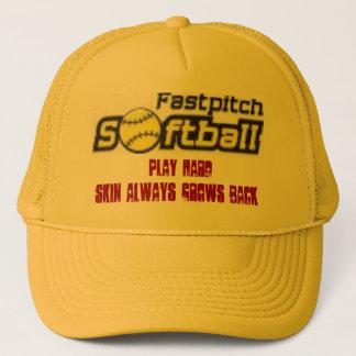 fastpitch-softball-clipart-11_small, Spiel stark,… Truckerkappe