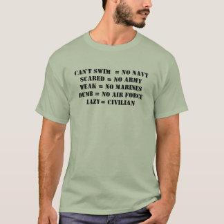 Faul = Zivilist T-Shirt