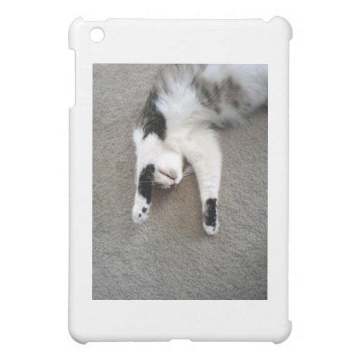 Faule Katze iPad Mini Hüllen