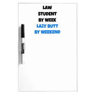 Fauler Hintern-Gesetzesstudent Memo Boards