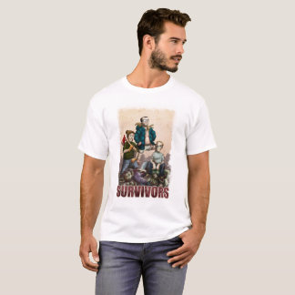 Fauler Hollywood-Zombie-Überlebend-T - Shirt