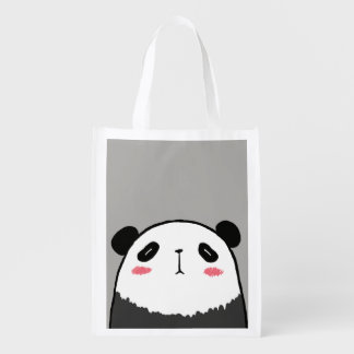 Fauler Panda Wiederverwendbare Einkaufstasche