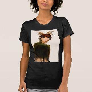Faun mit Mantelkleidung T-Shirt