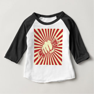 Faust, die Bargeld hält Baby T-shirt