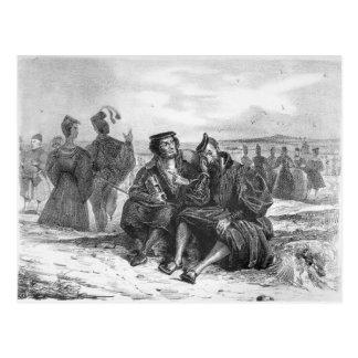 Faust und Wagner im Gespräch Postkarte