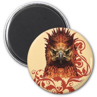 Fawkes Anstarren Runder Magnet 5,1 Cm