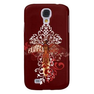 Fawkes Verbreitungs-Flügel Galaxy S4 Hülle