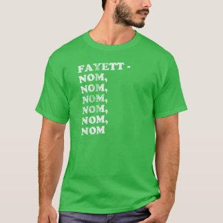 FAYETT-NOM, NOM, NOM, NOM, NOM - MANN T-Shirt