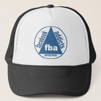 FBA:  Facebook Süchtige anonym Truckerkappe