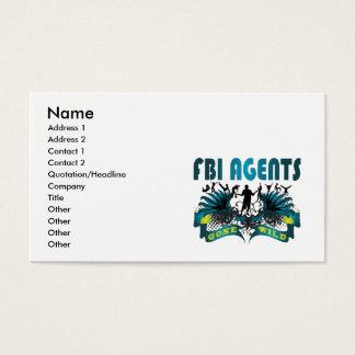 Fbi-Agenten wild gegangen Visitenkarte