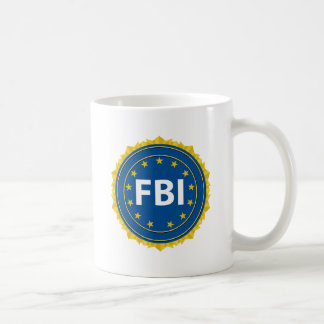 Fbi-Siegel Kaffeetasse
