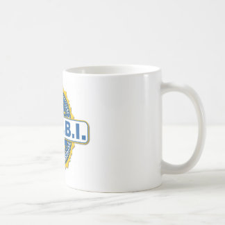 Fbi-Siegel-Modell Kaffeetasse