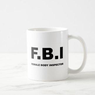 FBI voll Kaffeetasse