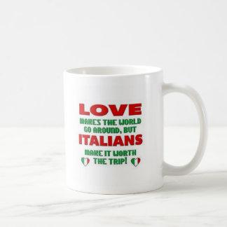 FBI-Volle Blooded Italienisch-Italienische Kaffeetasse