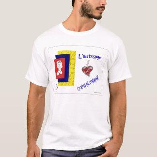 FBL'autisme Cer n'est Pas contagieux T-Shirt
