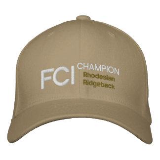 FCI Meister Rhodesian Ridgeback Kappe