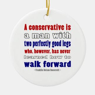 FDR definiert die dunkleren Konservativen Keramik Ornament