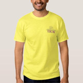 Fechten Besticktes T-Shirt
