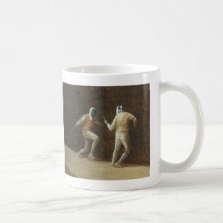 Fechten Kaffeetasse