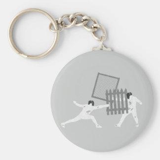Fechten Schlüsselanhänger