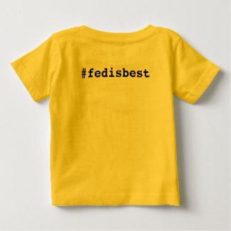 Fed ist gut ursprünglicher Logo-Baby-T - Shirt