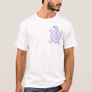 Feder für eine Schildkröte T-Shirt