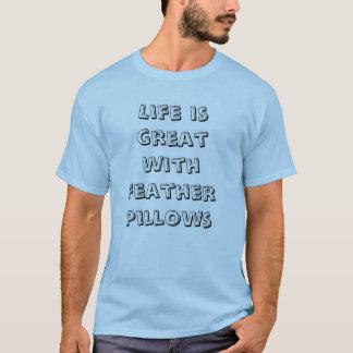 Feder-Kissen T-Shirt