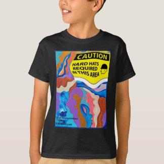 Feder-Schutzhelm T-Shirt
