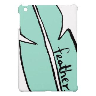 Federgrün iPad Mini Hülle