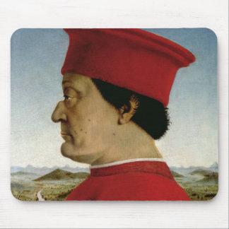 Federigo DA Montefeltro Herzog von Urbino, c.1465 Mauspads