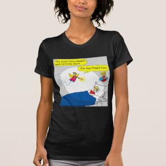 Fee-Cartoon mit 396 Pimple T-Shirt