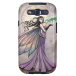 Fee mit Libellen-Fantasie-Kunst Samsung Galaxy S3 Etui