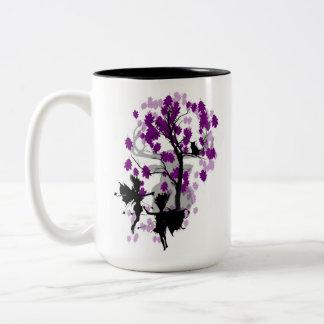 Fee sieht Faun-Tasse/Schale 2 Zweifarbige Tasse