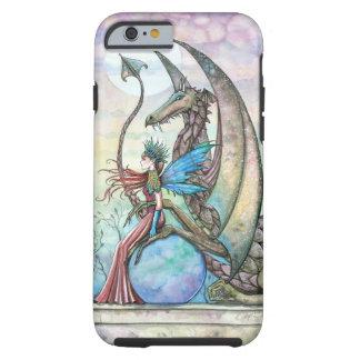 Fee-und Drache-Fantasie-Kunst starker iPhone 6 Tough iPhone 6 Hülle