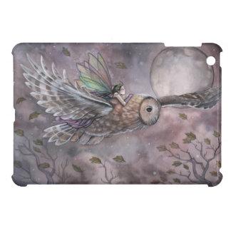 Fee-und Eulen-Fantasie-Kunst iPad Fall iPad Mini Hülle