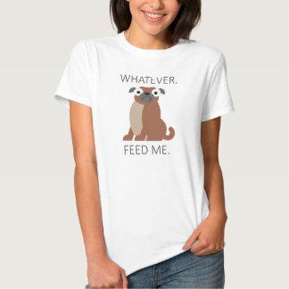 Feed Pug Hemd
