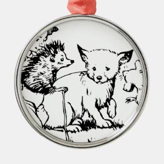 Feegeschichten Silbernes Ornament