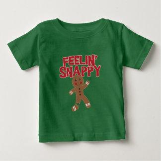 Feelin bissiger Lebkuchen-Mann Baby T-shirt