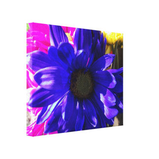 Feelin Blue Canvas Print
