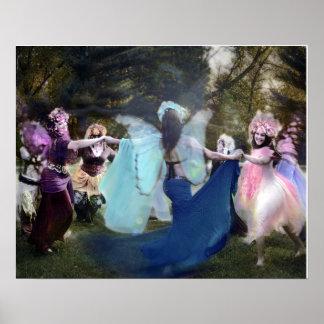 Feen, die ehrlich durch Cheryl tanzen Poster