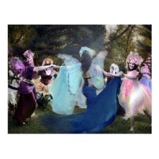 Feen, die ehrlich durch Cheryl tanzen Postkarte