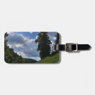 Feen-Hügel Kofferanhänger