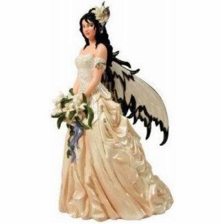 Feenhafte Braut-Skulptur Freistehende Fotoskulptur