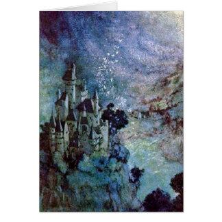 Feenhafte Kunst-Karte Land-Edmund Dulac Karte