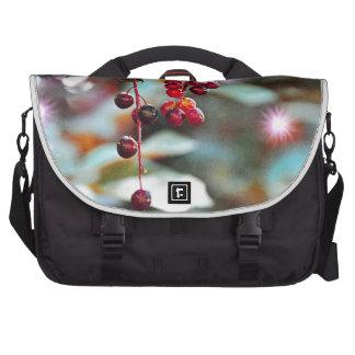 Feenhafte Lichter mit Kirschen - Aquarell-Art Laptop Tasche