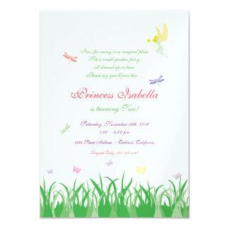 Feenhafte Prinzessin Garden Party Invite 11,4 X 15,9 Cm Einladungskarte