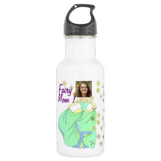Feenhafte Prinzessin, Kleid u. Sterne - mit IHREM Trinkflasche
